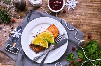 Filet z lososa pečený v pomerančové pikantní marinádě