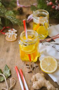 Citrusová vánoční bowle