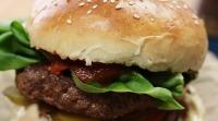 Hamburger z grilu